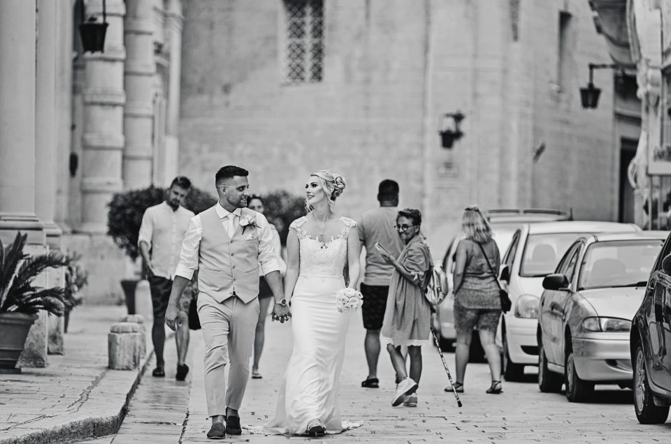 Kirsty & Matt / Limestone Heritage / Malta Destination Wedding Photographer