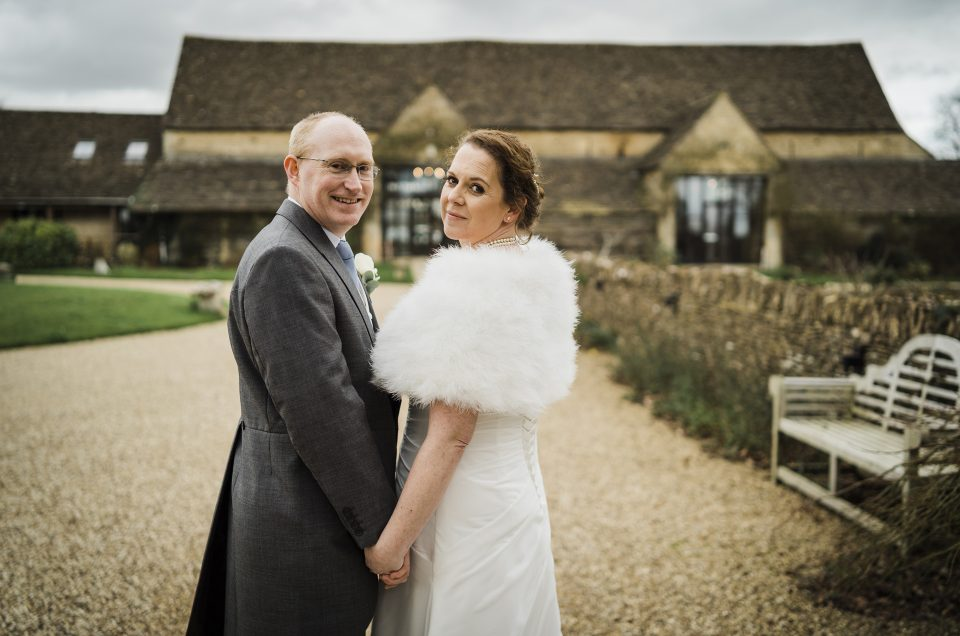 Debbie & Mark/ The Great Tythe Barn/ Gloucestershire Photographer