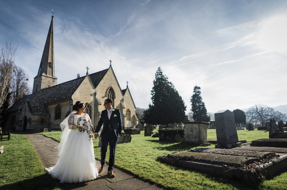 Stacie & James/ St Peter's Church/ Hatherley Manor / Gloucestershire Photographer
