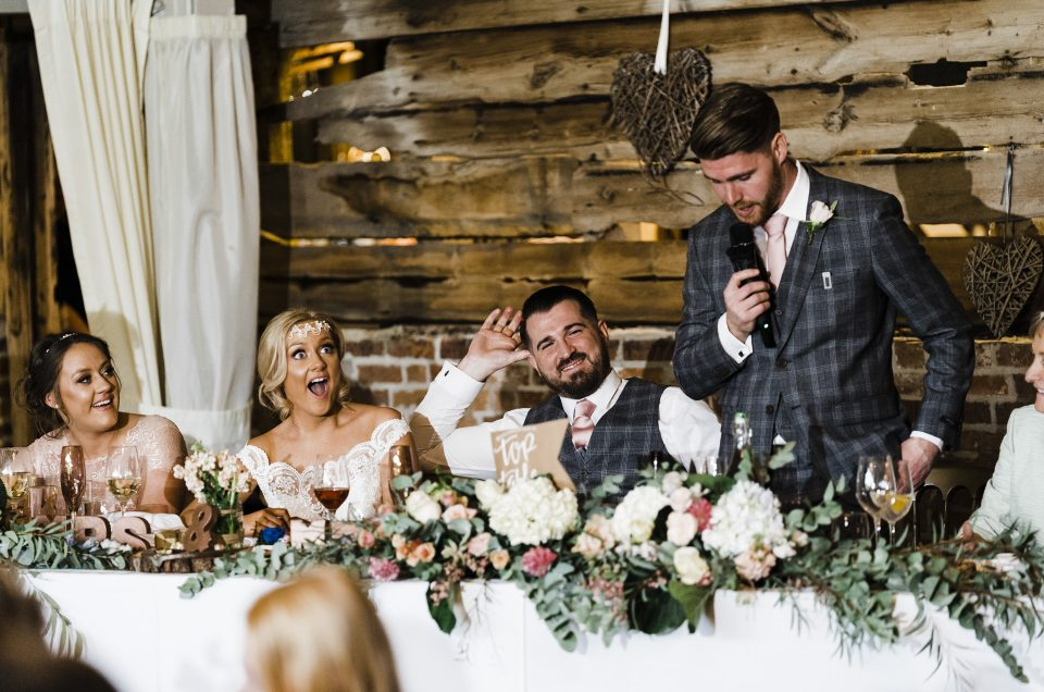 Amy & Owen/  Wellington Barn/ Wiltshire Photographer
