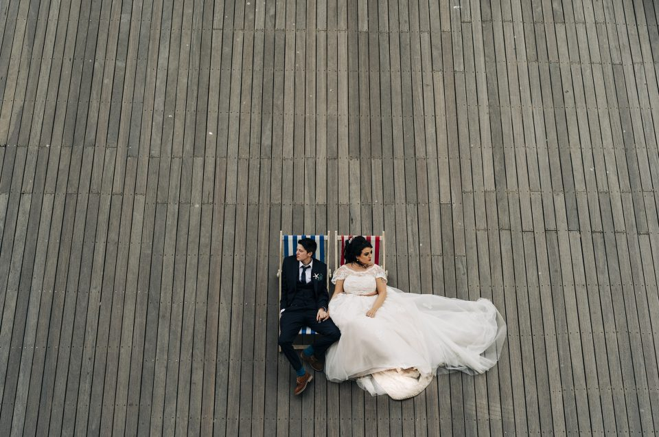 Emma & Tate/ Grand Pier Weston super Mare/ Somerset Photographer