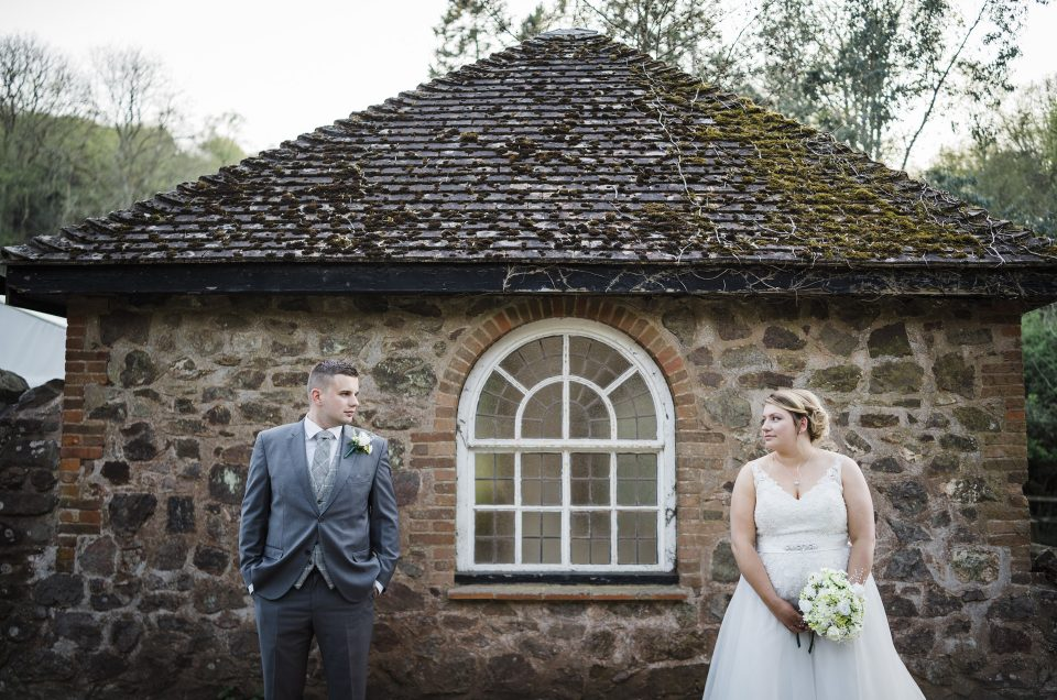Emily & Ryan / St. Francis' Church/ Combe House/ Somerset Photographer